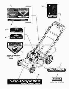 Snapper Spv22675hw Parts List And Diagram