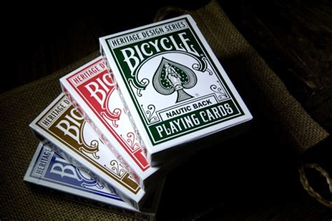 History and evolution of computers heritage design bicycle playing cards 2