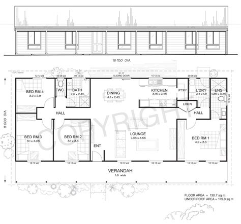 4 bedroom pole barn house floor plans 4 bedroom pole barn house floor plan studio design