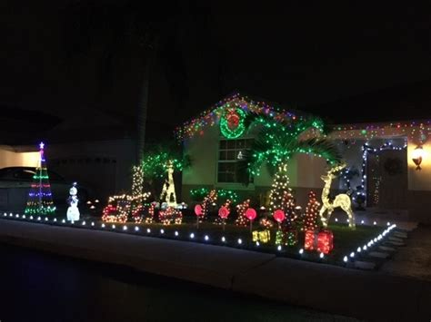 best christmas lights in florida best neighborhoods for christmas lights in broward coun