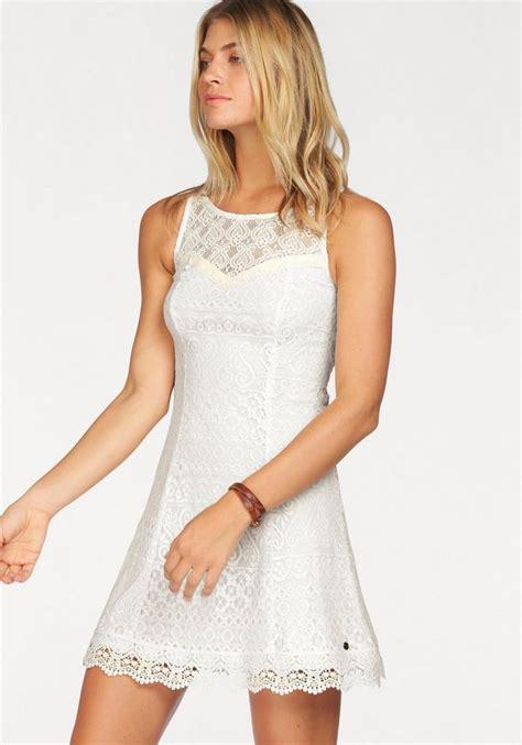 weißes kleid schwanger ajc spitzenkleid mit geh 228 kelter kante am saum in sehr figurbetonter passform kaufen otto