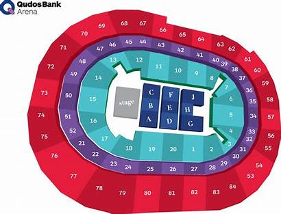 Seat Bank Seating Sydney Arena Section Clipart