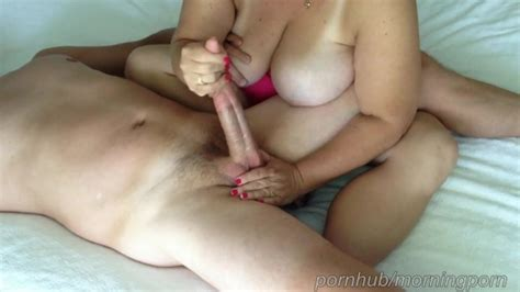 Wife Teases My Cock And Balls During Cock Massage Until I