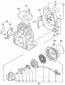 Robin  Subaru Ey08 Parts Diagram For Cooling  Starting