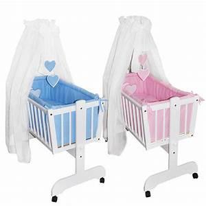Baby Wiege Bett : bettset f r babywiege schaukelwiege ohne wiege mit ~ Michelbontemps.com Haus und Dekorationen