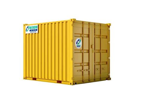 nixon hire high security steel containers  hire