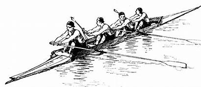 Rowing Clipart Team Clip Etc Clipground Outline