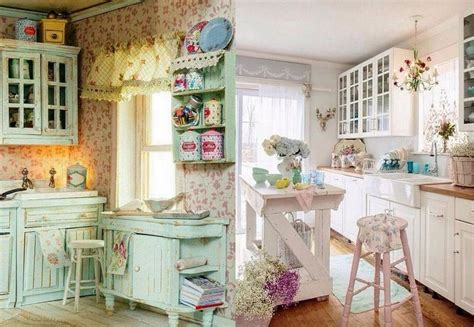 kitchen shabby chic accessories 50 beautiful shabby chic kitchens design and decor 5595