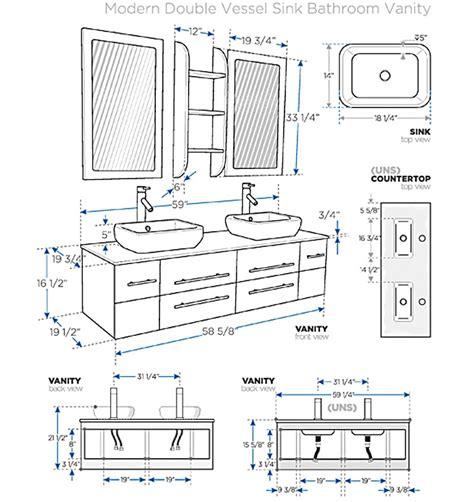 ada shower niche height fresca bellezza wood modern vessel sink