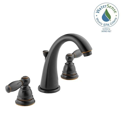 Bathroom Faucets Rubbed Bronze by Widespread Bathroom Faucet High Arc Spout Handle