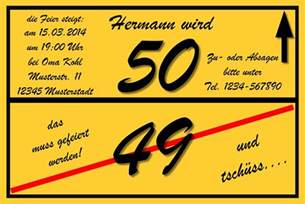 50er geburtstag sprüche einladungskarten geburtstag 50 einladungskarten geburtstag 50 vorlagen kostenlos