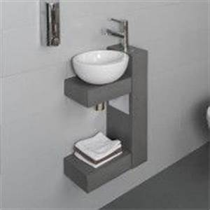 Lave Main Original : des rangements et un lave main qui ne prend pas de place ~ Edinachiropracticcenter.com Idées de Décoration