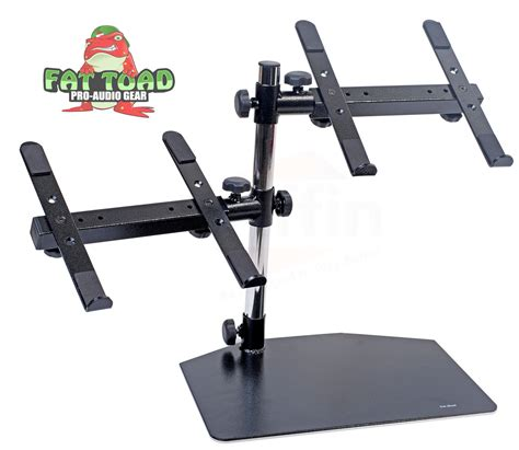 console dj pc dj laptop stand 2 tier pa equipment pc table