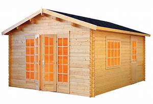 Casas de Madera Modelo Ales 1 de 3,80 x 5,70