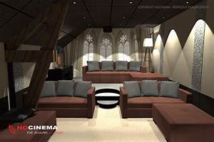 Cinema A La Maison : le concept 01d une salle cin ma maison r alis e sur mesure ~ Louise-bijoux.com Idées de Décoration
