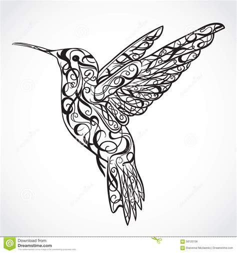colibri origami tatouage cochese tattoo