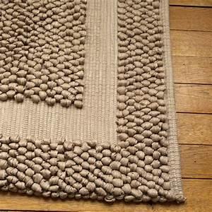 tapis bain ecologique couleur taupe With tapis ethnique avec canapé bio ecologique