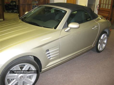 chrysler crossfire limited roadster convertible