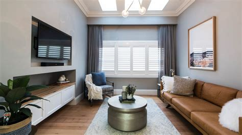 Is It Living Room Or Lounge by The Block 2017 Has Modern Interior Design Killed The