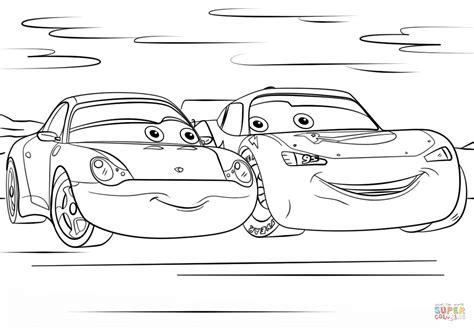 Lightning Mcqueen Kleurplaten.Cars 3 Pixar Free Coloring Pages