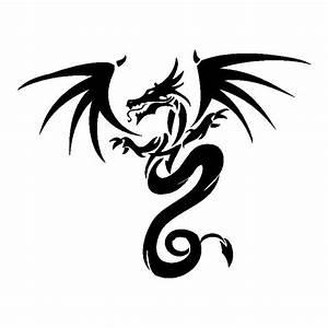 Drachen Schwarz Weiß : aufkleber drachen ~ Orissabook.com Haus und Dekorationen