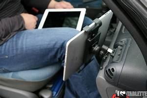 Support Tablette Voiture Norauto : support voiture pour ipad et tablettes tactiles le support grille a rateur ipilot ~ Farleysfitness.com Idées de Décoration