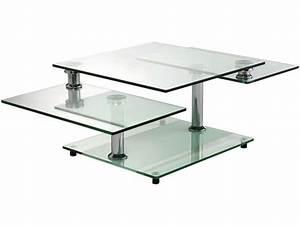 Conforama Table Basse : table basse en verre conforama ~ Teatrodelosmanantiales.com Idées de Décoration
