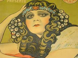 1918 Theda Bara Salome French Movie Poster