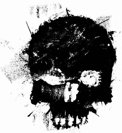 Skull Transparent Grunge Drawing Background Onlygfx Backgrounds