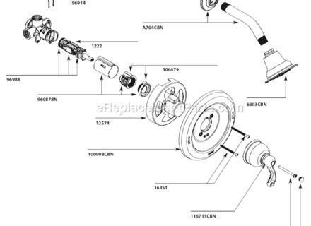 Moen Shower Faucet Parts Diagram Automotive