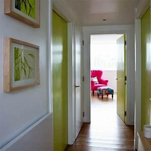 idee peinture deco couloir maisonreveclub With awesome couloir sombre quelle couleur 3 12 idees deco pour styliser un couloir long etroit ou sombre
