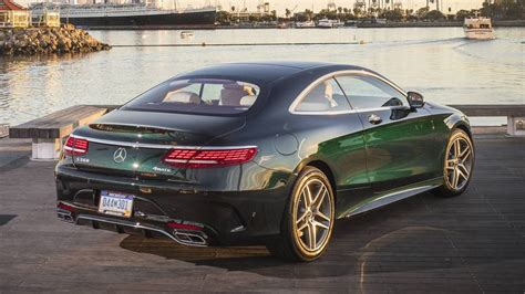 2018 Mercedesbenz S560 Coupe Review Delightful Luxury