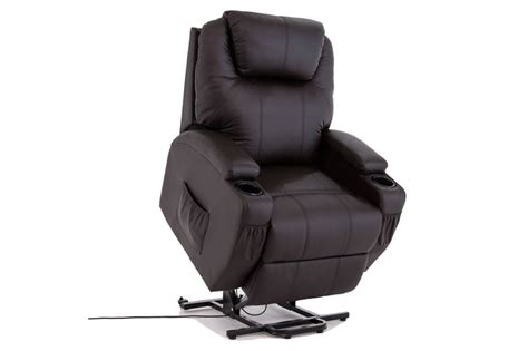 Power Lift Real Leather Chair Recliner Armchair Review