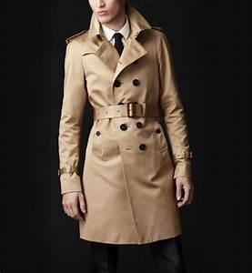 Trench Coat Burberry Homme : trench coat pour homme un indispensable pour la pluie peah ~ Melissatoandfro.com Idées de Décoration