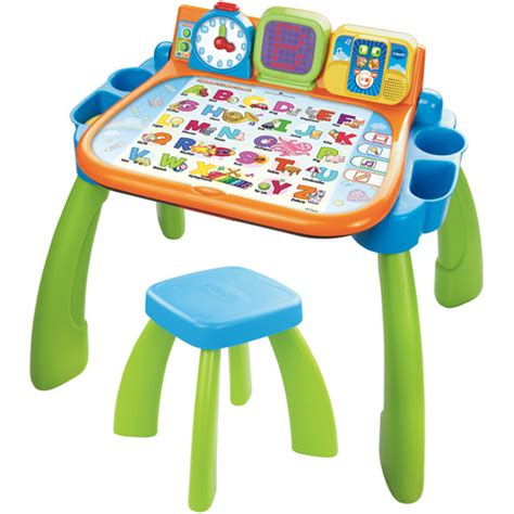 baby bureau vtech vtech touch learn activity desk walmart com