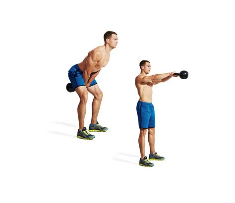 kettlebell swing workout fitness exercise proper form sets kb kettlebells muscleandfitness