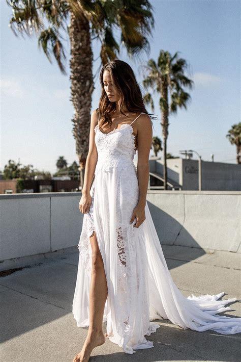 Beach Backless Wedding Dresswedding Dress Cheap Wedding