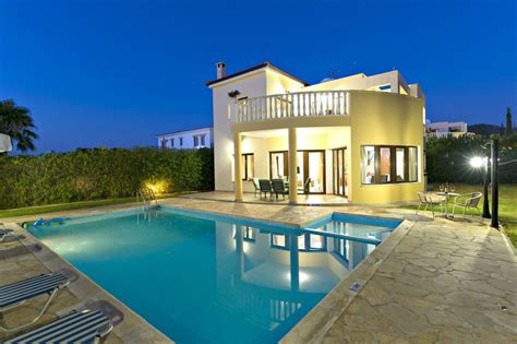 Villa To Rent In Polis Chrysochou, Cyprus With Private