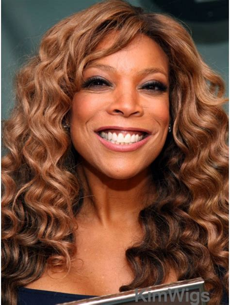 Without Bangs Curly Blonde 18 Inch Best Wendy Williams Wigs