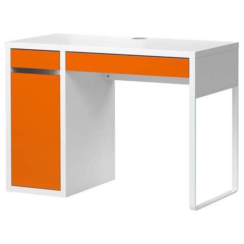 Ikea Schreibtisch Micke by Micke Desk White Orange Ikea This Domestic