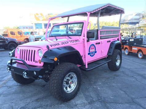 wrangler jeep pink pink jeep tours wrangler quadratec