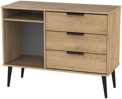 hong kong nebraska oak  drawer tv unit  wooden legs