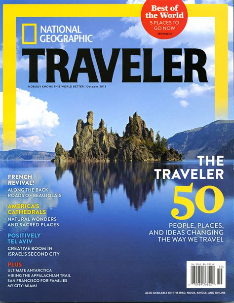 Susan Seubert On National Geographic Travelers Cover For