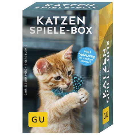 spiele box fuer katzen von gu verlag guenstig bestellen