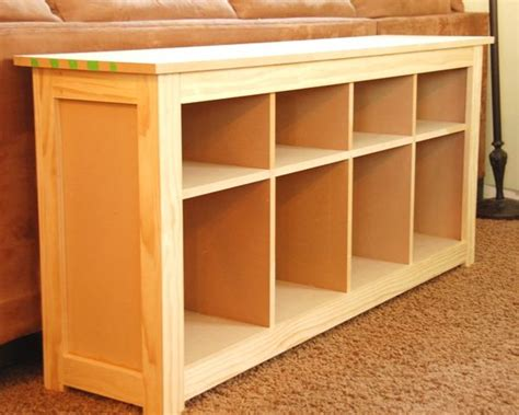 build a sofa table how to build an ikea hemnes style table crazy i love