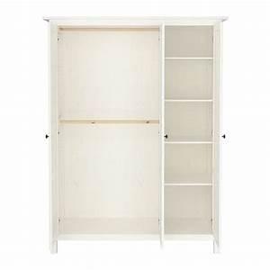 Ikea Kleiderschrank Hemnes : hemnes wardrobe with 3 doors ikea you can move the shelf to four different positions so to ~ Markanthonyermac.com Haus und Dekorationen