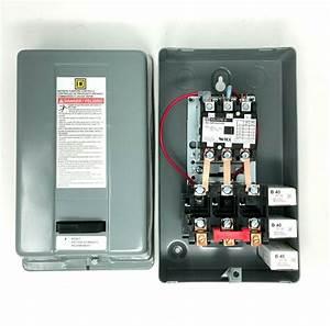 8911dpsg43v09 Square D Compressor Magnetic Starter 10hp
