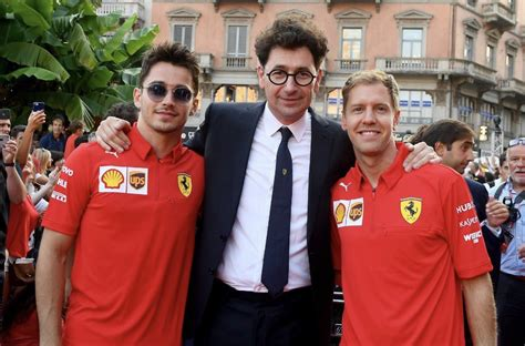 Binotto surely realizes the enormity of the task that lies ahead of him. Binotto - Η αντιπαλότητα Vettel/Leclerc είναι πλεονέκτημα
