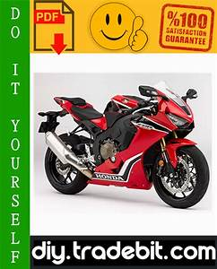 Honda Cbr1000rr Motorcycle Service Repair Manual 2003