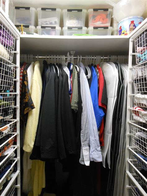 elfa system walk in closet get organised